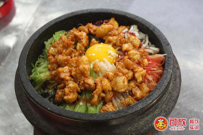 石鍋拌飯實訓